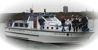 Kirchenboot Johann-Hinrich-Wichern in Ruhrort