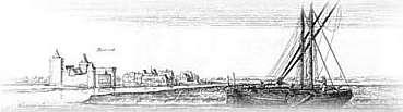 Ruhrort 1632 Kupferstich