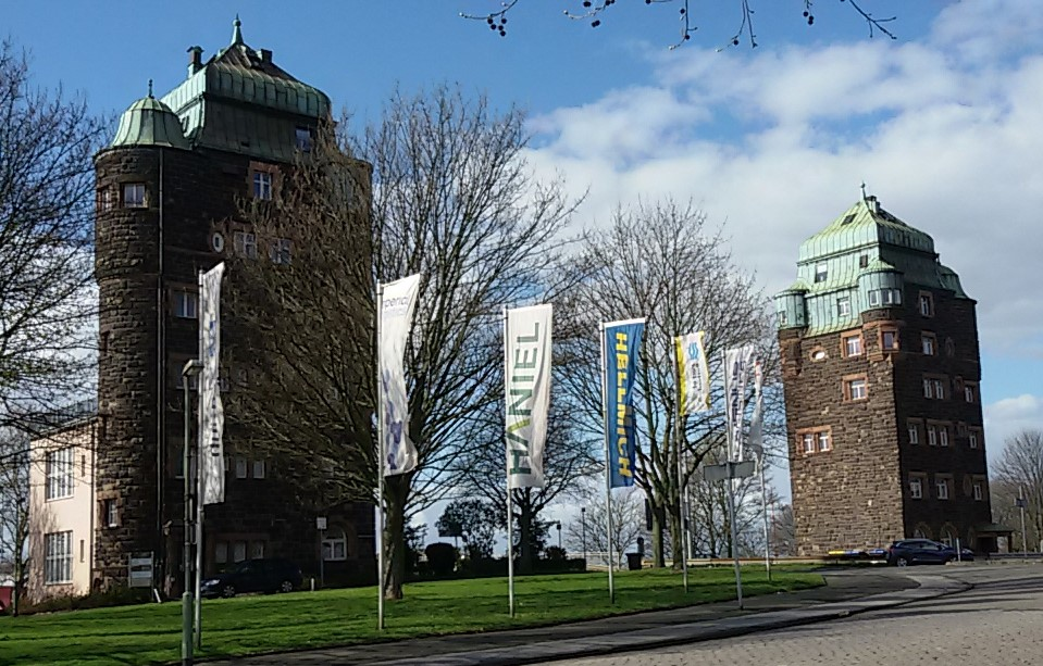 Brueckentuerme Ruhrort