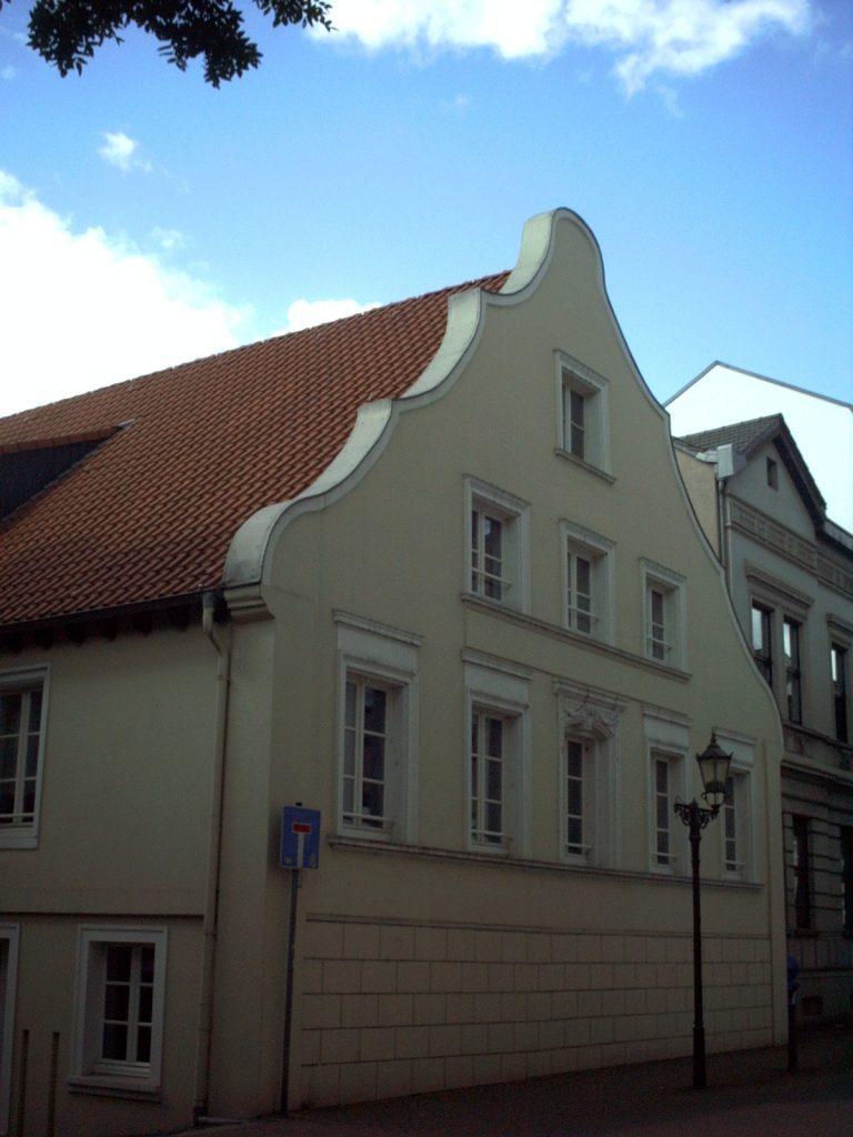 Giebelhaus Dammstrasse Ecke Horst-Schimanski-Gasse