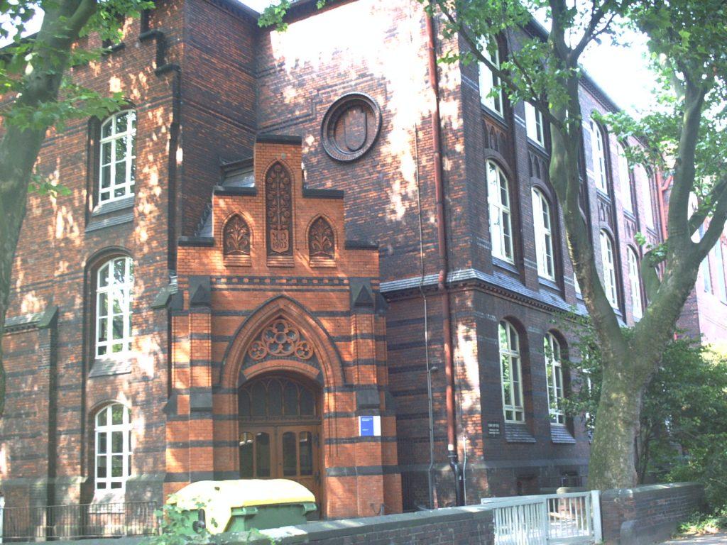Aletta Haniel Gesamtschule, ehemalige Carpschule auf der Carpstrasse in Ruhrort