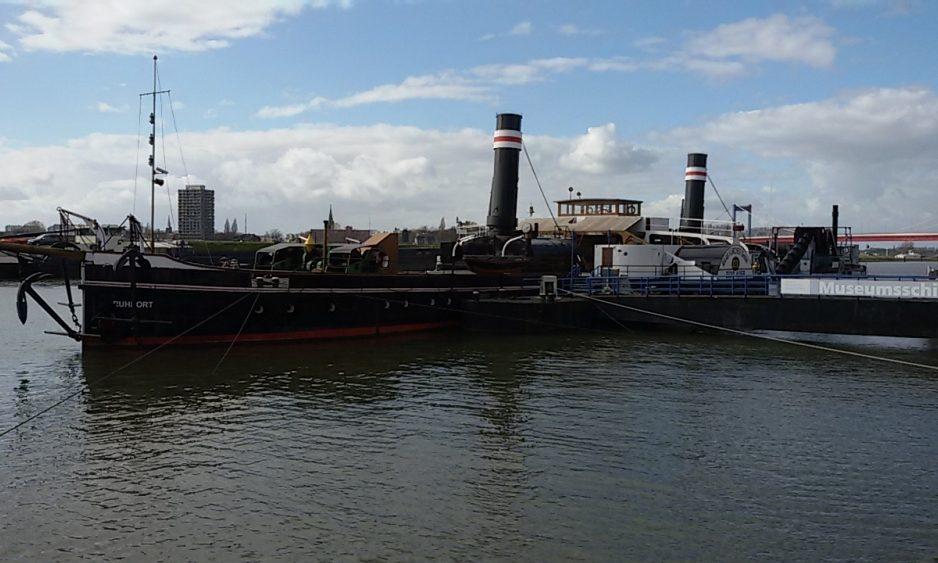 Hafenmund Ruhrort Oscar Huber