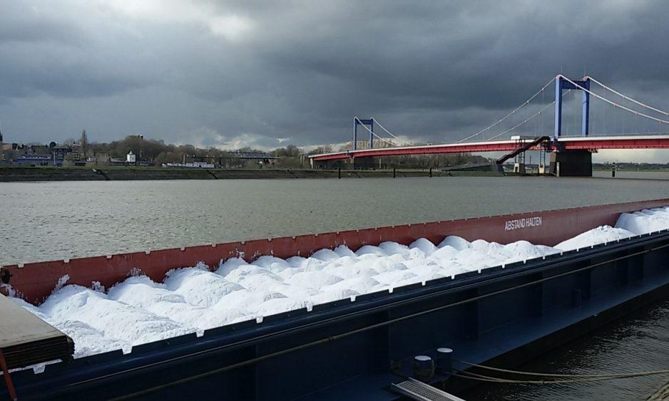 Hafenmund Ruhrort Rheinbruecke