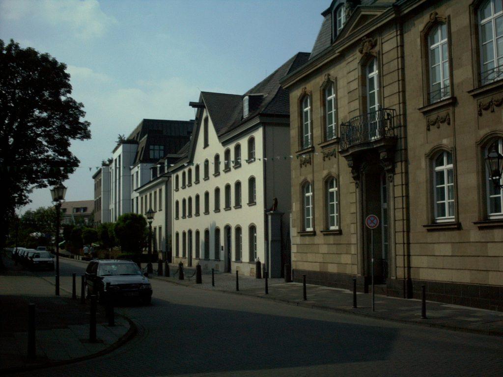Haniel Packhaus auf der Hafenstrasse in Ruhrort