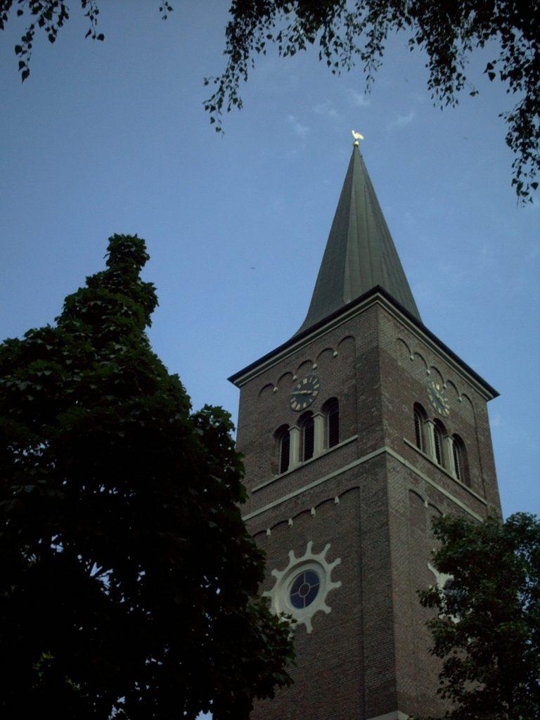 Jakobus Kirchturm Ruhrort